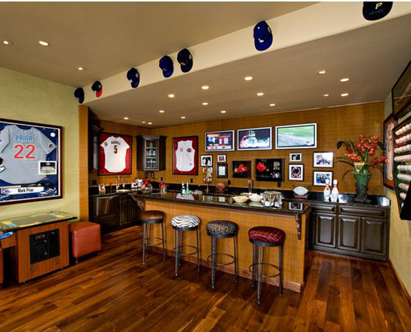 Man Cave Bar Layout : Father s day man caves