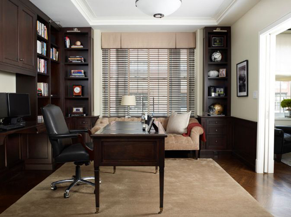 Home office ideas for Modern office space layout