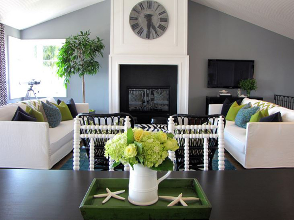 up with this year's color trends, emerald green interior design is in