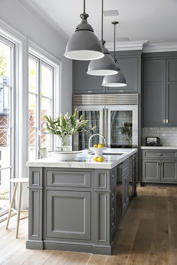 Grey Kitchen Inspiration By DGR Interior Designs