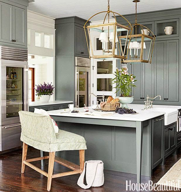 Interior Inspiration How To Plan The Perfect Kitchen: Grey Kitchen Inspiration By DGR Interior Designs